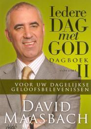 Iedere dag met God: vOLUME ii Dagboek voor uw dagelijse geloofsbelevenissen, David Maasbach, Hardcover
