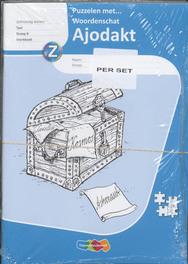 Ajodakt taal 8 Puzzelen met woordenschat set 5 ex Eva den Boogert, Paperback