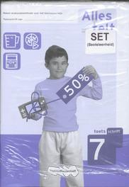 Alles telt: 7: Toetsschrift reken-wiskundemethode voor het basisonderwijs, Kraanen, Henry van, Paperback