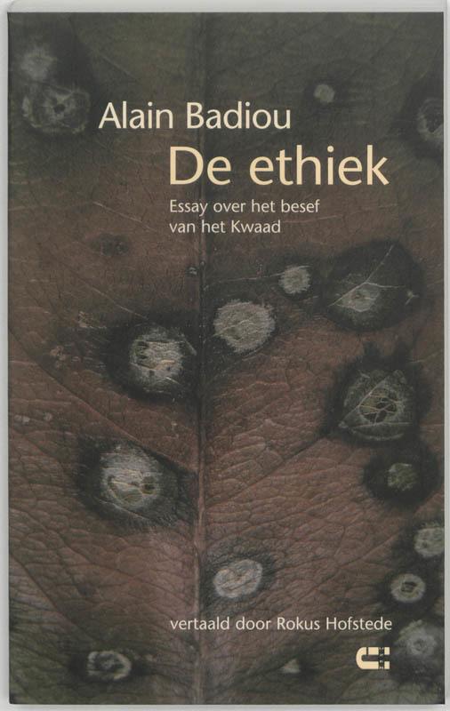 Ethiek essay over het besef van het kwaad, A. Badiou, Paperback