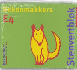 Rekenmakkers set 5 ex: E4: Leerlingenboek Stenvertblok, M. van der Borgh, Paperback