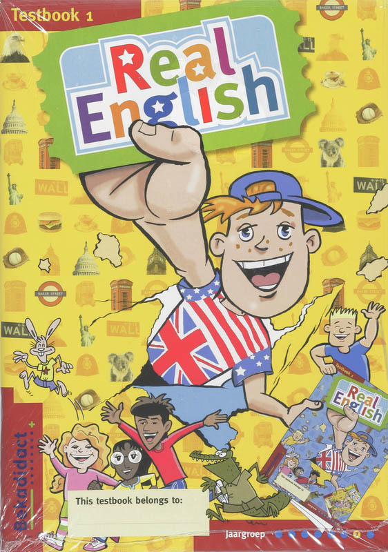 Real English set 5 ex: 1 Groep 7: Testbook Niekel, J., Hardcover