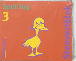 Stenvert taalblok: 3 5 ex: Spelling M. van der Borgh, Paperback