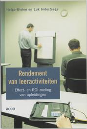 Rendement van leeractiviteiten effect- en ROI-meting van opleidingen, H. Gielen, Paperback