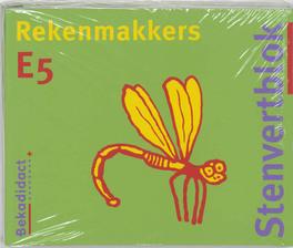 Rekenmakkers set 5 ex: E5: Leerlingenboek Stenvertblok, M. van der Borgh, Paperback