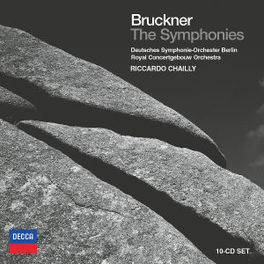 SYMPHONIES -BOX SET- ROYAL CONCERTGEBOUWORCH./RICCARDO CHAILLY Audio CD, A. BRUCKNER, CD