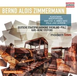 ALAGOANA/SINFONIE IN EINE DEUTSCHE STAATSPHILHARMONIE RHEINLAND-PFALZ B.A. ZIMMERMANN, CD