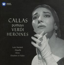 VERDI ARIAS 1 PHILHARMONIA ORCHESTRA/NICOLA RESCIGNO (1958) MARIA CALLAS, CD