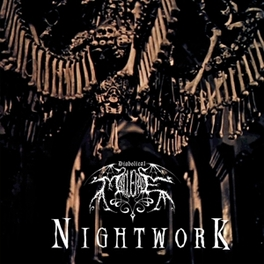 NIGHTWORK -HQ- THIRD ALBUM FROM 1998 OF DARK & SYMPHONIC BLACK METAL DIABOLICAL MASQUERADE, LP