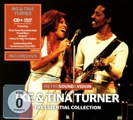 ESSENTIAL -CD+DVD- TURNER, IKE & TINA, CD