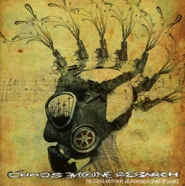 LEGEND WRITTEN BY AN.. .. ANONYMOUS SPIRIT OF SILENCE CHAOS ENGINE RESEARCH, CD