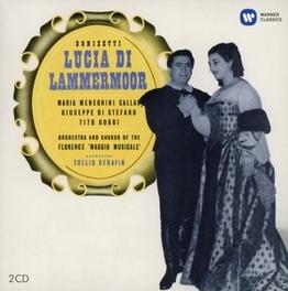 LUCIA DI LAMMERMOOR MARIA CALLAS/MAGGIO MUS.FIORENTINO/TULLIO SERAFIN (1953 G. DONIZETTI, CD