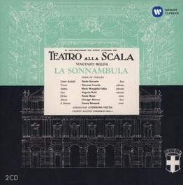 LA SONNAMBULA MARIA CALLAS/LA SCALA MILAN/ANTONINO VOTTO (1957) V. BELLINI, CD