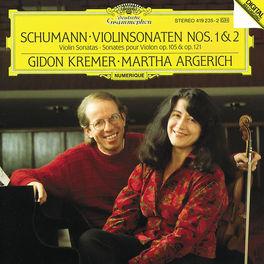SONATAS FOR VIOLIN & PIAN NO.1 OP.105/NO.2 OP.121 W/KREMER/ARGERICH Audio CD, ROBERT SCHUMANN, CD
