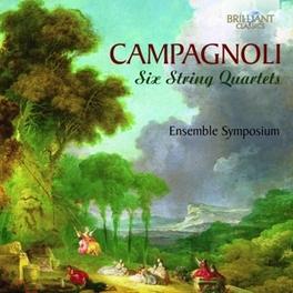 SIX STRING QUARTETS ENSEMBLE SYMPOSIUM Laghi, Simone, CD
