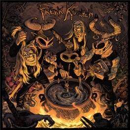 COOKING WITH PAGANS *8TH ALBUM BY SWEDISH PROG-METAL TRIO* FREAK KITCHEN, CD