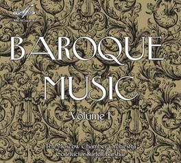 BAROQUE MUSIC VOL.1 MOSCOW CHAMBER ORCHESTRA/RUDOLF BARSHAI ALBINONI/VIVALDI/TELEMANN, CD