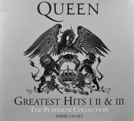 PLATINUM COLLECTION GREATEST HITS I II & III // 2011 REMASTERED VERSION Audio CD, QUEEN, CD