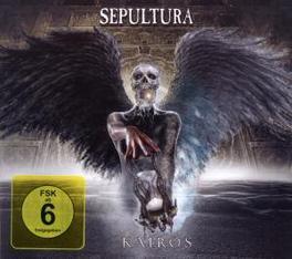KAIROS -CD+DVD- SEPULTURA, CD
