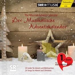 DER MUSIKALISCHER ADVENTS SWR VOKALENSEMBLE STUTTGART/SWR RUNDFUNKORCH./CREED V/A, CD