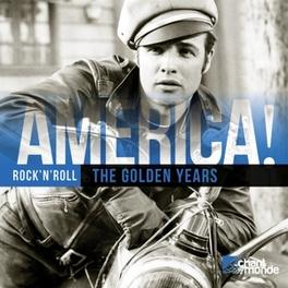 AMERICA! ROCK'N'ROLL HALEY/PRESLEY/DIDDLEY/BERRY/HOLLY/+ V/A, CD