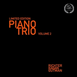 LIMITED EDITION PIANO TRI WORKS BY RAVEL RICHTER/KAGAN/GUTMAN, Vinyl LP