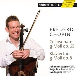CELLOSONATE G-MOLL OP.65 JOHANNES MOSER/KOLJA BLACHER/EWA KUPIEC F. CHOPIN, CD