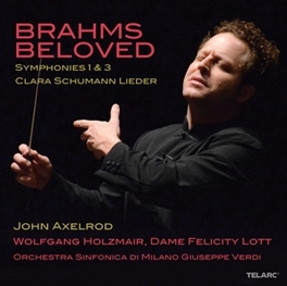 BELOVED:SYMPHONIES NO.1 & ORCHESTRA SINFONICA DI MILANO G.VERDI/AXELROD J. BRAHMS, CD