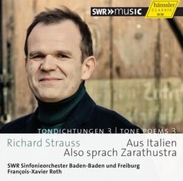 AUS ITALIEN/ALSO SPRACH Z SWR S.O.BADEN-BADEN & FREIBURG R. STRAUSS, CD