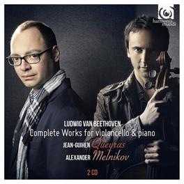 SONATAS FOR CELLO & PIANO JEAN GUIHEN QUEYRAS/ALEXANDER MELNIKOV L. VAN BEETHOVEN, CD