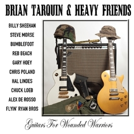 GUITARS FOR WOUNDED.. .. WARRIORS // & HEAVY FRIENDS BRIAN TARQUIN, CD
