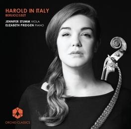 HAROLD IN ITALY JENNIFER STUMM/ELIZABETH PRIDGEN BERLIOZ/LISZT, CD