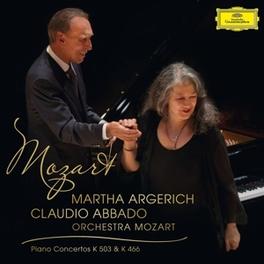 PIANO CONCERTO NO.25 IN C O.M./CLAUDIO ABBADO/MARTHA ARGERICH W.A. MOZART, Vinyl LP