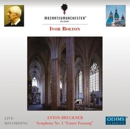 SYMPHONY NO.1 SALZBURG MOZARTEUM ORCHESTRA/IVOR BOLTON A. BRUCKNER, CD