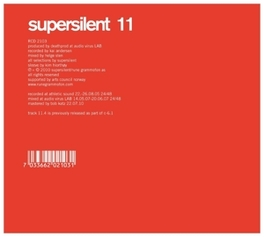 11 SUPERSILENT, CD
