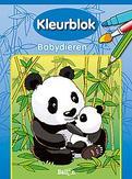 Kleurblok: Babydieren