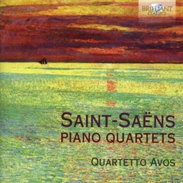PIANO QUARTETS QUARTETTO AVOS SAINT-SAENS, C., CD