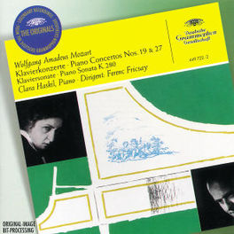 PIANOCONCERT NO.19 & 27 -HASKIL/FRICSAY Audio CD, W.A. MOZART, CD