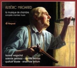 LA MUSIQUE DE CHAMBRE QUATUOR ELYSEE/ENSEMBLE INITIUM A. MAGNARD, CD