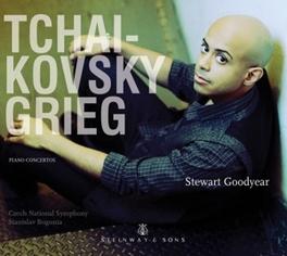 PIANO CONCERTOS STEVE GOODYEAR TCHAIKOVSKY/GRIEG, CD