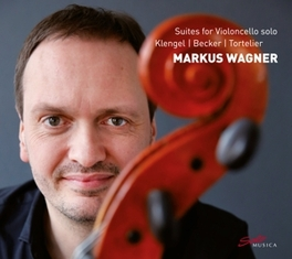 SUITES FOR VIOLONCELLO SO WORKS BY KLENGEL/BECKER/TORTELIER MARKUS WAGNER, CD