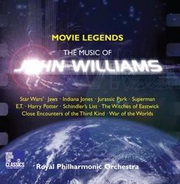 MOVIE LEGENDS ROYAL PHILHARMONIC ORCHESTRA/TOLGA KASHIF... J. WILLIAMS, CD