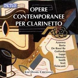 OPERERE CONTEMPORANEE PER JOSE DANIEL CIRIGLIANO, CD