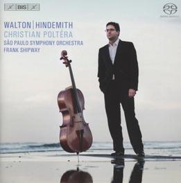 CELLO CONCERTOS SAO PAULO S.O./FRANK SHIPWAY/CHRISTIAN POLTARA WALTON/HINDEMITH, CD