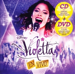 VIOLETTA EN VIVO -CD+DVD- V/A, CD