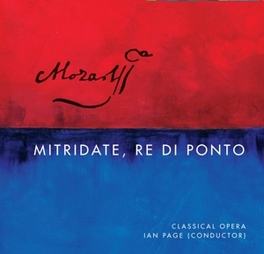 MITRIDATE, RE DI PONTO BANKS/PERSSON/BEVAN/ZAZZO/IAN PAGE Mozart, Wolfgang Amadeus, CD