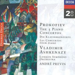 PIANOCONCERTS 1-5 V/ASHKENAZY/LSO/PREVIN Audio CD, S. PROKOFIEV, CD