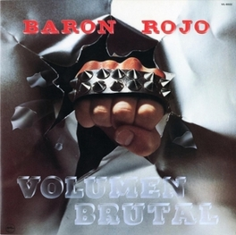 VOLUMEN BRUTAL 1982 ALBUM REISSUE BARON ROJO, CD