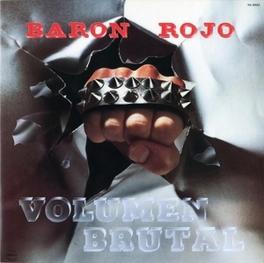 VOLUMEN BRUTAL 1982 ALBUM REISSUE BARON ROJO, CD