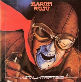 METALMORFOSIS 1983 ALBUM REISSUE BARON ROJO, CD